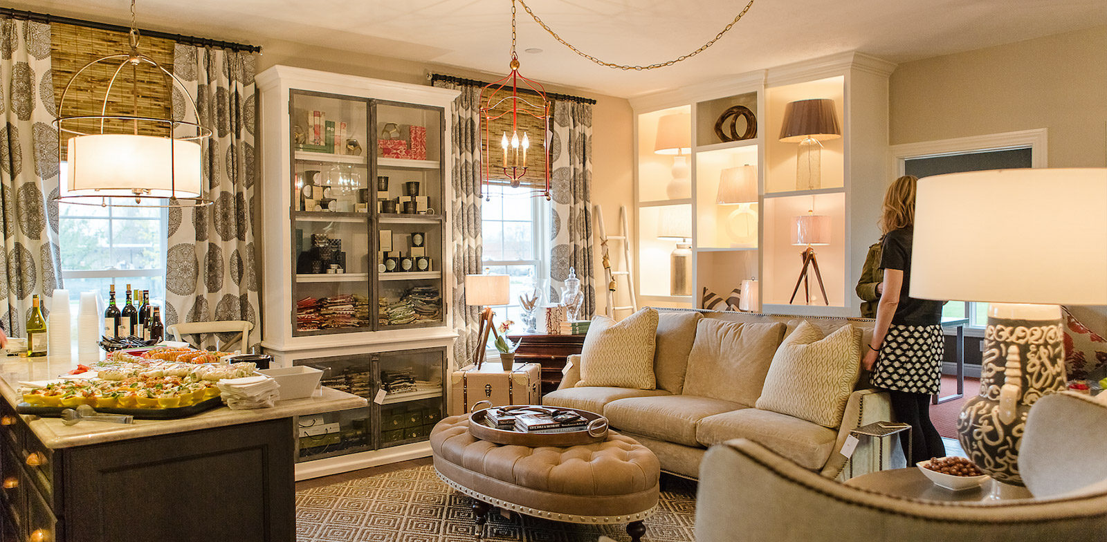 Laura Yeager Smith Furnishings Showroom